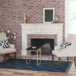 Rafterhouse brick fireplace